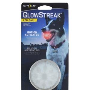 Nite Ize GlowStreak LED Colour Changing Durable Dog Ball