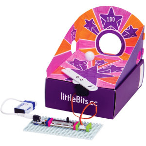 LittleBits Hall Of Fame 2 in 1 Pinball & Catapult Arcade Game Kit