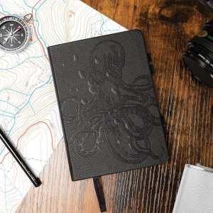Luckies Raincheck 100% Water-Resistant A6 Notebook - Black