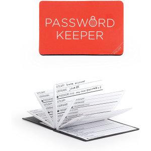 Kikkerland Compact Password Keeper Log Book - Black