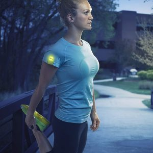 Nite Ize Reflective LED Magnetic Exercise Marker Light - Neon Yellow