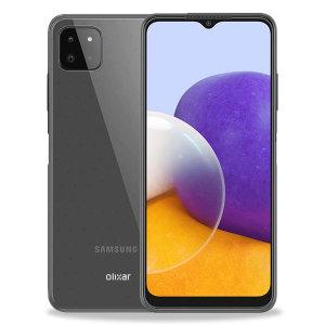 Olixar Flexishield Samsung Galaxy A22 5G Case - 100% Clear