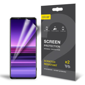 Olixar Sony Xperia 1 III Film Screen Protectors - Two Pack