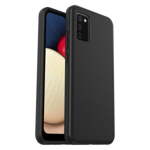 OtterBox React Samsung Galaxy A02s Ultra-Slim Protective Case - Black