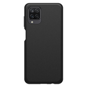 OtterBox React Samsung Galaxy A12 Ultra-Slim Protective Case - Black