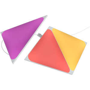 Nanoleaf Shapes Smart App Controlled Triangle Expansion Pack- 3 Panels