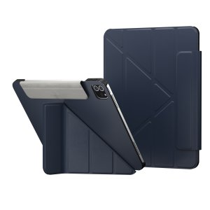 "SwitchEasy Origami iPad Pro 11"" 2018 1st Gen. Leather Folio Case- Blue"