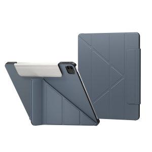 "SwitchEasy Origami iPad Pro 11"" 2021 3rd Gen. Leather Folio Case- Blue"