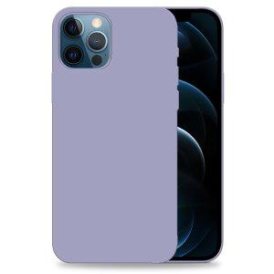 Olixar Soft Silicone iPhone 12 Pro Case - Purple