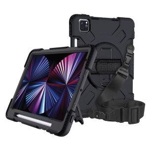 "Olixar iPad Pro 11"" 2021 3rd Gen. Tough Armour Case - Black"