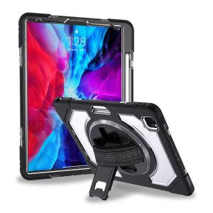 "Olixar iPad Pro 12.9"" 2018 3rd Gen. Tough Armour Case - Clear Black"