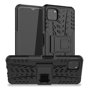 Olixar Armourdillo Samsung Galaxy A22 5G Protective Case - Black