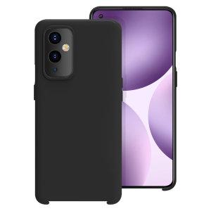 Olixar Oneplus 9 Soft Silicone Case - Black