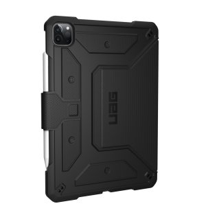 "UAG Metropolis iPad Pro 12.9"" 2021 5th Gen. Protective Case - Black"