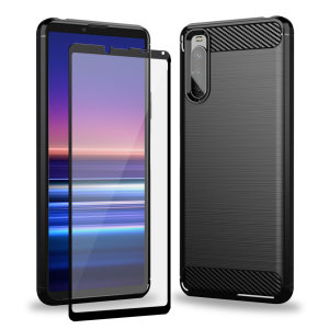Olixar Sentinel Sony Xperia 10 III Case & Glass Screen Protector