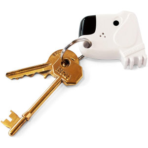 Suck 'Fetch My Keys' Whistle Reactive Keyfinder Keyring