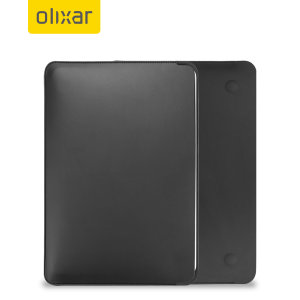 "Olixar MacBook Pro 13"" 2020 Leather-Style Sleeve - Black"