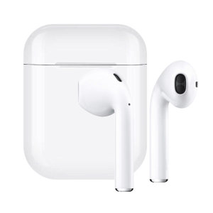 FX True Wireless Earphones With Microphone - White