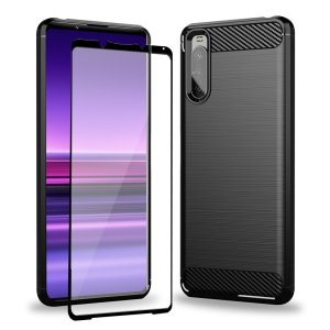 Olixar Sentinel Sony Xperia 1 III Case & Glass Screen Protector