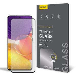 Olixar Samsung Galaxy Quantum 2 Tempered Glass Screen Protector