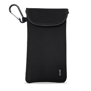 Olixar Neoprene Universal Smartphone Pouch with Card Slot - Black