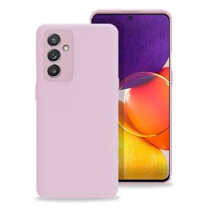 Olixar Samsung Galaxy Quantum 2 Soft Silicone Case - Pastel Pink