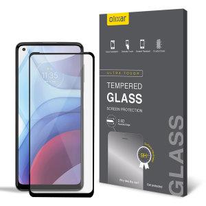 Olixar Moto G Power 2021 Tempered Glass Screen Protector