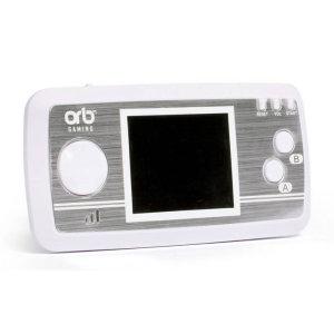 ThumbsUp Retro Handheld LCD Screen Console W/ 200 Games - Grey