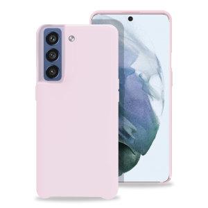 Olixar Samsung Galaxy S21 FE Soft Silicone Case - Pastel Pink