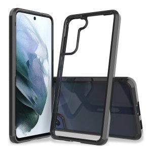 Olixar ExoShield Samsung Galaxy S21 FE Tough Case - Black