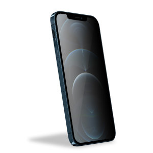 Olixar iPhone 12 Pro Max Privacy CamSlider Glass Screen Protector