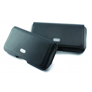 KSIX Wall Street Magnetic Universal Phone Pouch Case - Black
