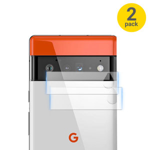 Olixar Google Pixel 6 Pro Tempered Glass Camera Protectors - Twin Pack