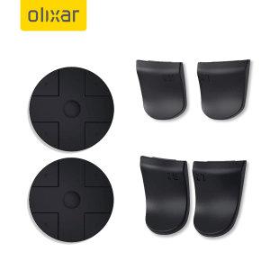 Olixar D-Pad & Trigger Extender Caps For Gaming Controllers - Black