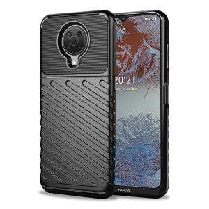 Olixar Nokia G10 Tough Armour Case - Black