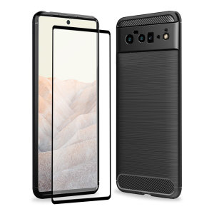 Olixar Sentinel Google Pixel 6 Pro Case And Glass Screen Protector