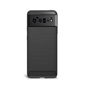 Olixar Carbon Fibre Google Pixel 6 Pro Case - Black