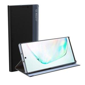 Auto Sleep Samsung Galaxy A52 Bookcase With Kickstand - Black
