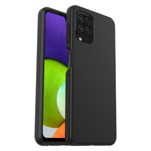 OtterBox React Series Samsung Galaxy A22 4G Protective Case - Black