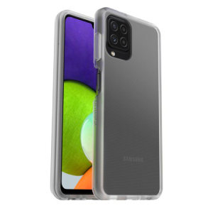 OtterBox React Samsung Galaxy A22 5G Ultra Slim Protective Case- Clear