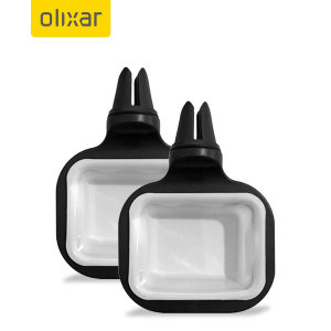 Olixar Air Vent Dipping Sauce Car Condiment Holder - Two Pack - Black