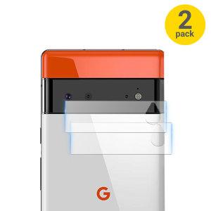 Olixar Google Pixel 6 Tempered Glass Camera Protectors - Twin Pack