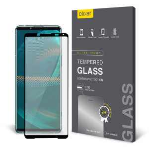 Olixar Sony Xperia 5 III Full Cover Tempered Glass Screen Protector