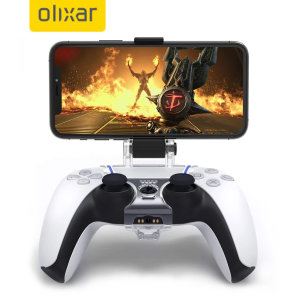 Olixar Sony Xperia 10 III Gaming Controller Mount for the PS5 - Clear