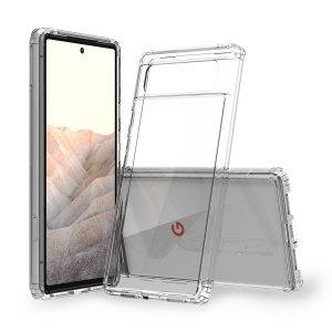 Olixar Exoshield Google Pixel 6 Tough Case - Clear