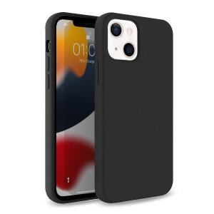 Olixar Soft Silicone iPhone 13 Case - Black
