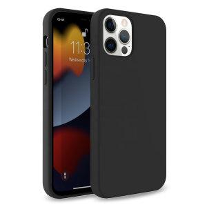 Olixar Soft Silicone iPhone 13 Pro Case - Black