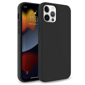 Olixar Soft Silicone iPhone 13 Pro Max Case - Graphite