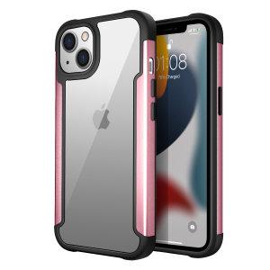 Olixar Novashield iPhone 13 Protective Bumper Case - Rose Gold