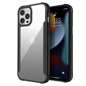 Olixar Novashield iPhone 13 Pro Max Protective Bumper Case - Graphite